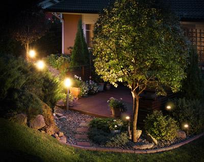 Easy Connect Gartenbeleuchtung