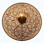 albena shop 71-6329 orientalische Wandlampe Metall rund