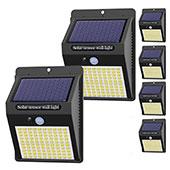 Hepside Solarlampen für Außen mit Bewegungsmelder