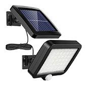 Solarlampen für Außen, MPJ 56 LED Solarleuchte Aussen mit Bewegungsmelder